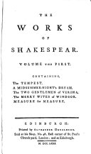 Pdf The works of Shakespear [ed. by H. Blair], in which the beauties observed by Pope, Warburton and Dodd are pointed out, together with the author's life; a glossary [&c.].