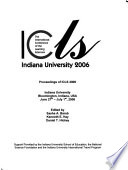 Proceedings of ICLS 2006 - Making a Difference