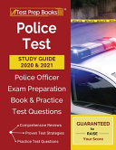 Police Test Study Guide 2020 and 2021 Book