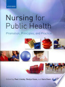 Nursing For Public Health Promotion Principles And Practice