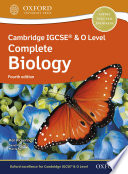 Cambridge Igcse O Level Complete Biology Student Book Fourth Edition