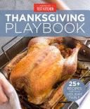 America s Test Kitchen Thanksgiving Playbook Book PDF