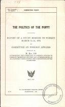 The Politics of the Poppy