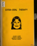 Extra-oral Therapy