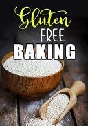 Gluten Free Baking  Blank Recipe Book to Write in Cookbook Organizer