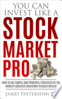 You Can Invest Like a Stock Market Pro Book