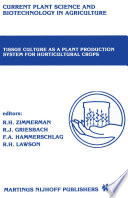 Tissue culture as a plant production system for horticultural crops