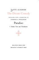 The Divine Comedy: Paradiso. 2 v