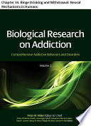 Biological Research on Addiction Book