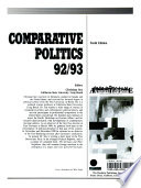 Comparative Politics  , Volumes 92-93
