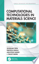 Computational Technologies in Materials Science Book