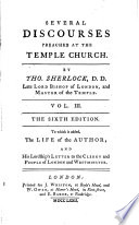 Several Discourses Preached at the Temple Church