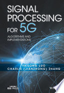 Signal Processing for 5G Book
