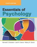 Essentials Of Psychology Fourth Edition Instructor S Review Copy Not For Resale  Book