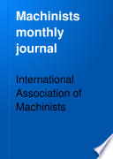 Machinists Monthly Journal