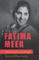 Books - Fatima Meer - Memories of Love & Struggle | ISBN 9780795707889