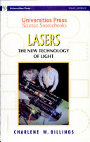 Lasers  New Technology Of Light The