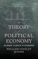 The Theory of Political Economy [Pdf/ePub] eBook