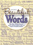 Beautiful Words  Volume 1
