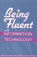 Being Fluent with Information Technology