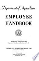 Department of Agriculture Employee Handbook