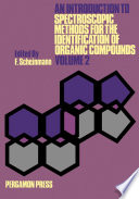An Introduction To Spectroscopic Methods For The Identification Of Organic Compounds Book PDF