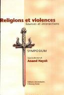 Religions et violences