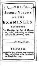 The Examiner      no  1 58  Dec  6  1711 Dec  29  1712