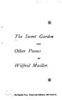 The Secret Garden  and Other Poems Book