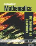 Fundamentals of Mathematics   Differential Calculus
