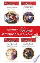 Harlequin Presents September 2016 - Box Set 1 of 2