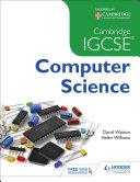 Pdf Cambridge IGCSE Computer Science Telecharger