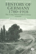 History of Germany 1780-1918