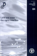 Land and Water--the Rights Interface