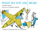 What Do You Say  Dear  Book