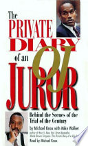 Private Diary Of An O J Juror Book