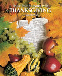 Thanksgiving Enter Into His Gates With Thanksgiving Bulletin 2008 Large Package Of 50
