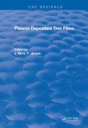 Pdf Plasma Deposited Thin Films Telecharger
