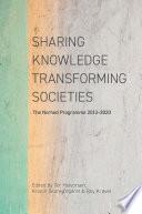 Sharing Knowledge Transforming Societies Book PDF