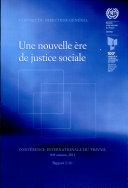 Une nouvelle ère de justice sociale