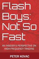 Flash Boys: Not So Fast