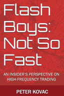 Flash Boys Not So Fast PDF