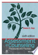 Assessment In Counseling PDF