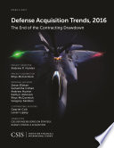 Defense Acquisition Trends 2016