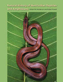 Natural History of West Indian Reptiles and Amphibians Book