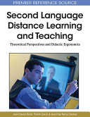 Second Language Distance Learning and Teaching  Theoretical Perspectives and Didactic Ergonomics