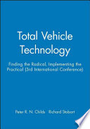 Total Vehicle Technology Book