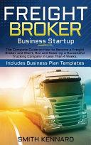 Freight Broker Business Startup