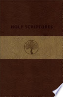 TLV Personal Size Giant Print Reference Bible, Holy Scriptures, Brown/Sand Duravella