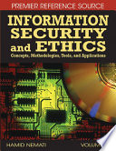 Information Security and Ethics  Concepts  Methodologies  Tools  and Applications Book